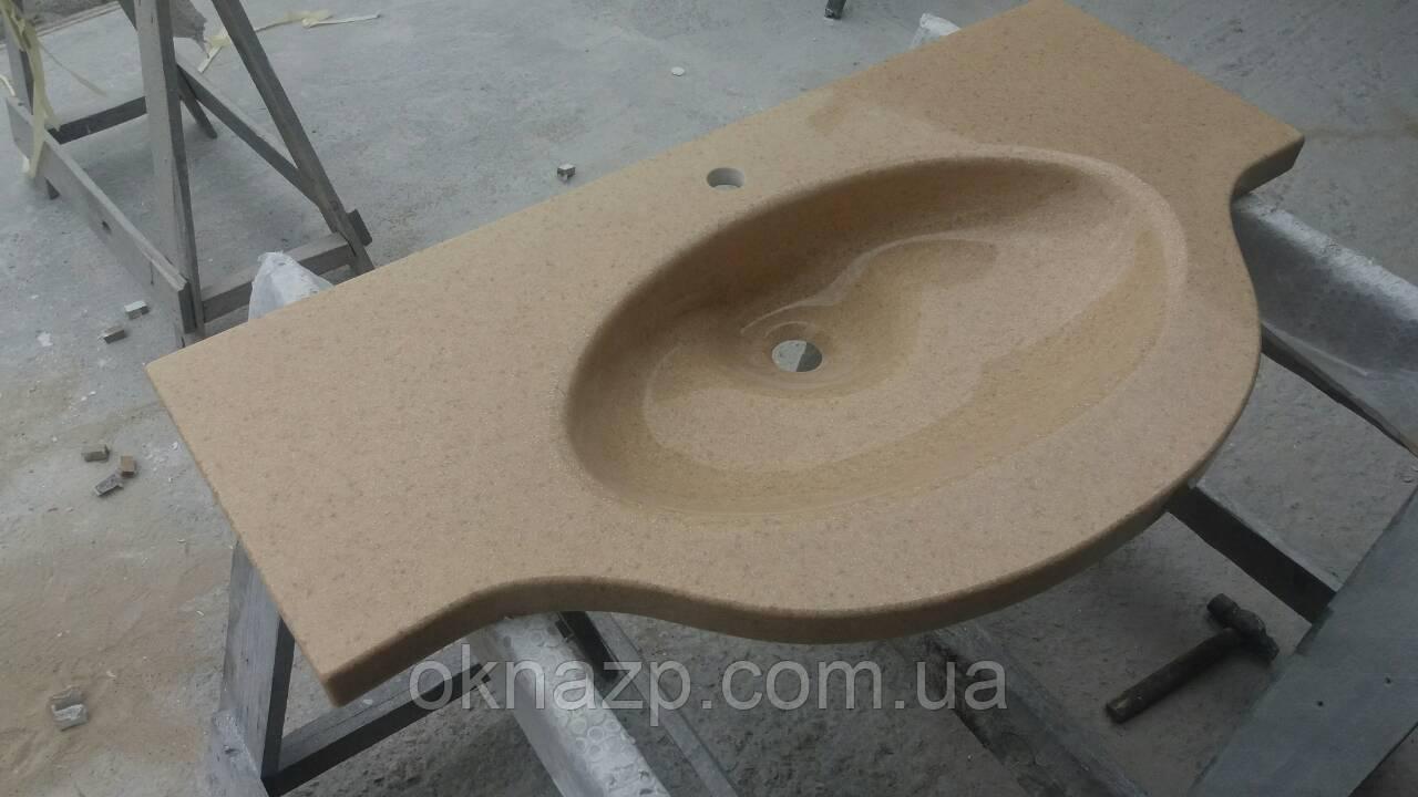Умывальник со столешницей (литой умывальник +2700грн./шт. дополнительно)
