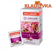 """Чай Черный """"HILWEY COUNTRY THYME"""" 25-1,5г (пакеты)"""