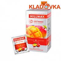 """Чай Черный """"HILWAY JUICY MANGO"""" 25-1,5г (пакеты)"""