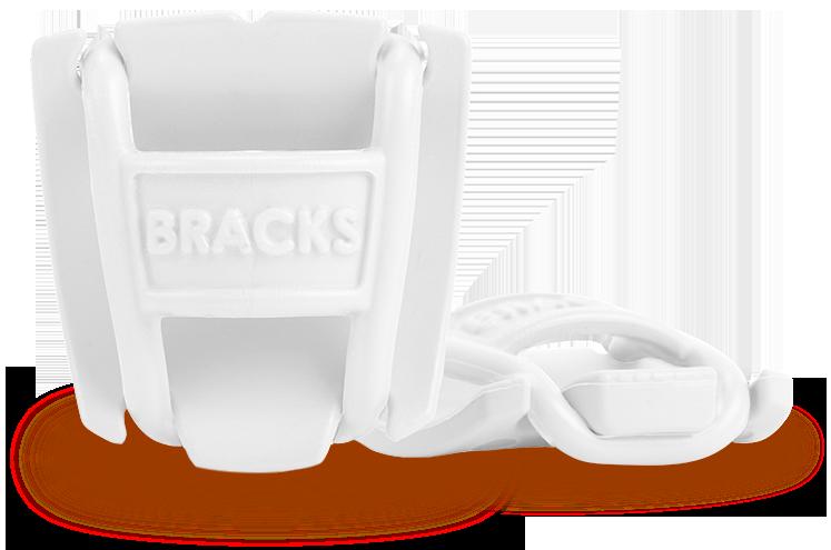 Клипсы препятствующие развязыванию шнурков BRACKS белые