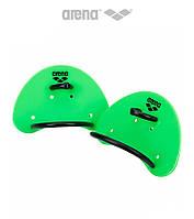 Кистевые лопатки Arena Elite Finger Padlle (Acid Lime)