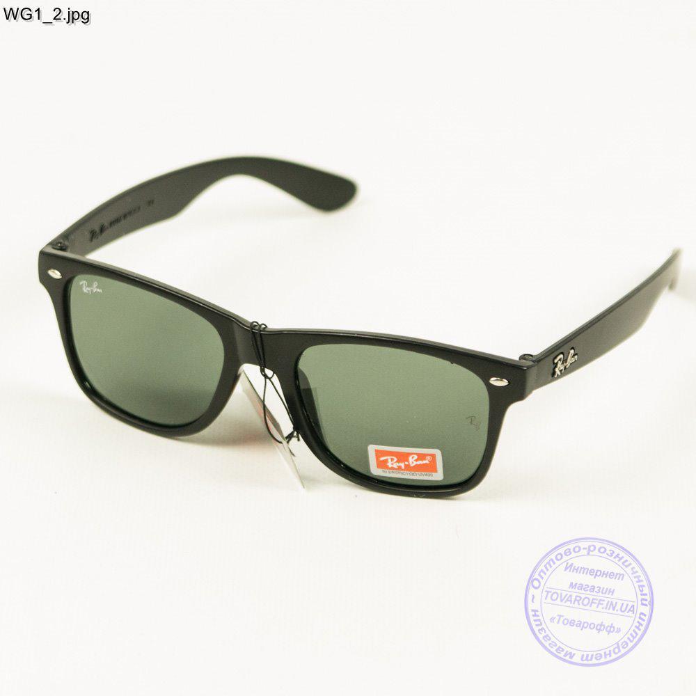 Сонцезахисні окуляри Ray-Ban Wayfarer унісекс зі скляною лінзою - WG1