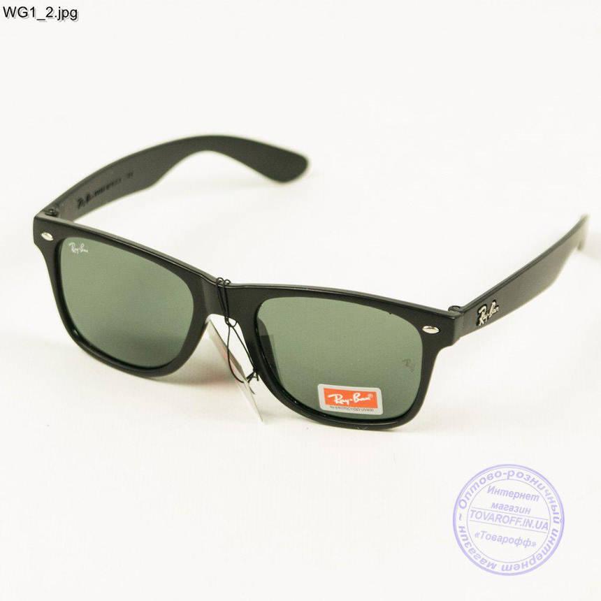 Сонцезахисні окуляри Ray-Ban Wayfarer унісекс зі скляною лінзою - WG1, фото 2