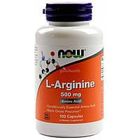 L-Arginine 500 мг 100 капс. (аминокислоты)