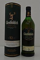 Виски Glenfiddich 12 y.o. (Гленфиддик 12 лет) 40% 1л