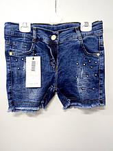 Шорти джинсові для дівчинки Sercino 162