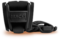 Клипсы препятствующие развязыванию шнурков BRACKS черные