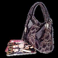 Женская сумочка Realer P059 (Черная)