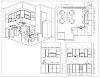 Разработка конфигурации кухни