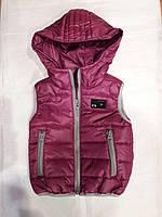 Детская жилетка в ассортименте цвета 92-116 см