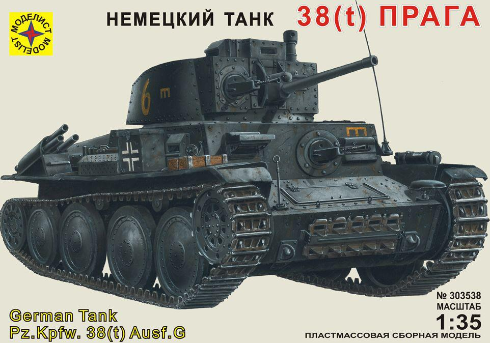 """Танк 38(t) """"Прага"""". 1/35 MODELIST 303538"""