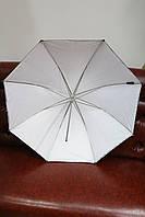Зонт Mircopro UB-007 80см (черный/серебристый/полупрозрачный)