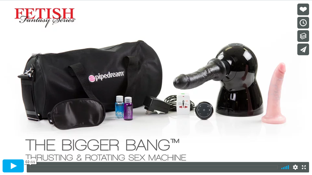 Fetish Fantasy Series The Bigger Bang Thrusting and Rotating Sex Machine