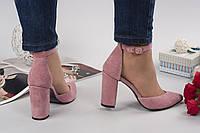Туфли Veroni замшевые пудра