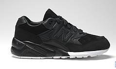 Женские кроссовки New Balance 580 Black топ реплика