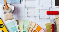 Выбор отделочных материалов (обоев, подбор цвета краски)