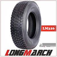Шина 315/80R22.5 156/150K LongMarch LM326 Ведуча, грузовые шины на ведущую ось грузовика
