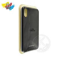 Силиконовый чехол на мобильный телефон (смартфон) iPhone X black  Molan Shining