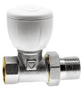 """Кран HLV для радиаторов ручной прямой 3/4"""" эконом (107008L1) шт."""