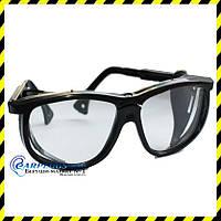 Защитные Очки слесарные  с боковой защитой, регулируемые дужки.