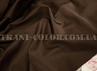 Костюмная ткань коттон мемори шоколад