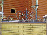 Кованое навершие на забор, фото 1
