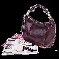 Женская сумочка Realer P112 (шоколад)