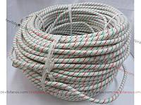 Веревка страховочная 13 мм шнур капроновый полиамидный для промышленного альпинизма статическая  строительная