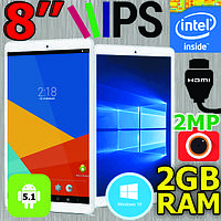 Планшет 2 в 1 - Teclast X80 Plus 8 дюймов WINDOWS + ANDROID, IPS, Intel