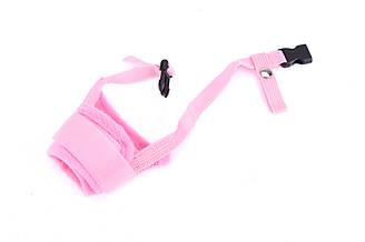 Намордник нейлоновый для собак Do Do Pet розовый
