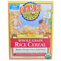 Earth's Best, Органические мультизерновые рисовые злаки, 8 унций (227 г)