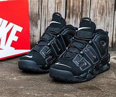 Мужские кроссовки Nike Supreme демисезонные черные топ реплика