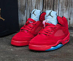 Мужские кроссовки Nike Air Jordan 5 топ реплика