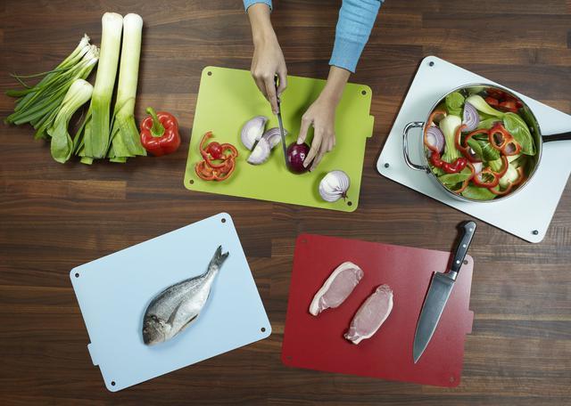 Кухонные разделочные доски в наборе 4 штуки