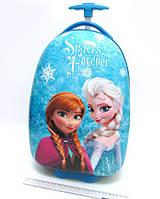 Детский чемодан дорожный на колесах «Холодное Сердце» Frozen-10, 520367