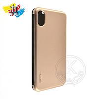 Чехол-книжка на мобильный телефон (смартфон)  iPhone X gold Rock Dr.V