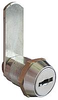 Замок для камер хранения EMKA 7418 А, прямая планка, 2 ключа латунь