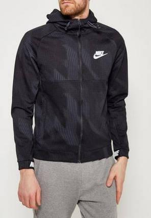 Толстовка Nike Sportswear Advance 15 Hoodie 885937-010 (Оригинал) , фото 2