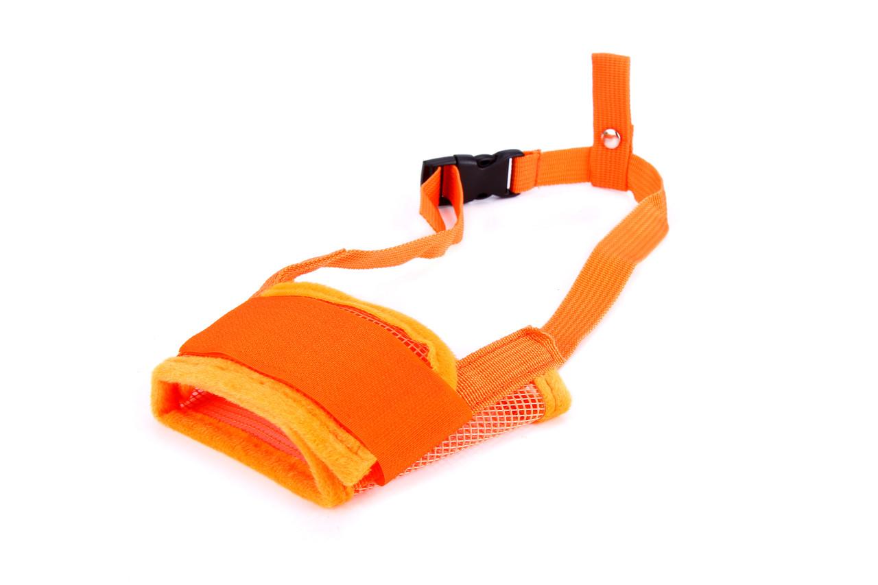 Намордник нейлоновый для собак Do Do Pet оранжевый