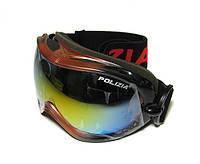 Очки горнолыжные профессиональные Polizia