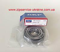 Подшипник SKF 6203-2Z (17x40x12мм) для стиральных машин