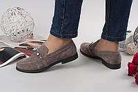 Туфли-лоферы капучино