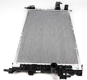 Радиатор Комбо / Opel Combo 1.3/1.7CDTi с 2004- (+/- AC) (охлаждения), фото 2