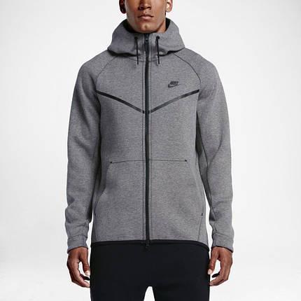 2d52b7d0 Толстовка Nike NSW Tech Fleece Windrunner 805144-091 (Оригинал) , фото 2