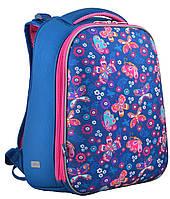 Каркасный школьный рюкзак H-12-1 Butterfly