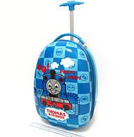 Детский чемодан дорожный на колесах «Паровозик Томас», 520371