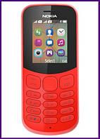 Телефон Nokia 130 Dual Sim New (RED). Гарантия в Украине 1 год!