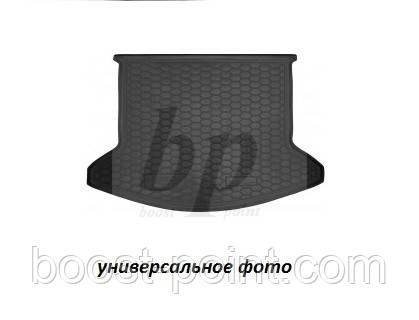 Коврик багажника (корыто)-резиновый, черный Fiat 500 L (фиат 500 л 2012г+)