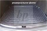 Коврик багажника (корыто)-резиновый, черный Fiat 500 L (фиат 500 л 2012г+), фото 4