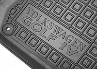 Резиновые  коврики в салон для Volkswagen Golf 4  от Auto Gumm
